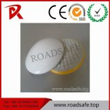 Roadsafe High Quality Yellow White Cat Eyes Ceramic Road Studs Pavement Marker