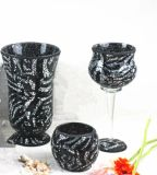 Wholesale Mosaic Glass Hurricane Lamp Shade/Candle Holder