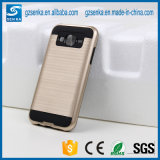 Brush Satin Mobile Phone Protective Case for Samsung Galaxy J3