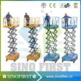 8m to 10m Small Selfdriven Hydraulic Electric Mobile Scissor Lift