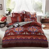 Microfiber 4 Piece Bohemian Ethnic Style Bedding Sets Boho Duvet Cover Set