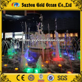 Musical Fountain Design Water Feature LED Lights Music Dancing Fountain