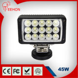 4X4 45W LED Work Light for Driving Lamp Offroad Tractor Auto Lamp