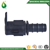 Black Barbed Male Threaded Connector Drip Pipe