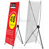Custom Portable Advertising Trade Show Exhibits X Banner Display Stand