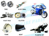 2 Stroke 49cc Super Bike Parts (FS509 X7)