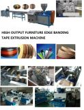 High Output ABS PVC Edge Banding Tape Plastic Extrusion Machine