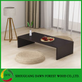 Modern Melamine Cheap Price Wood Simple Coffee Table