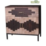 One Drawer Two Door Wooden Living Room Cabinet