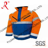 The Reflective Winter Waterproof Safety Jacket (QF-532)