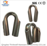 Factory Price Stamping Stainless Steel Wire Rope Tube Thimble
