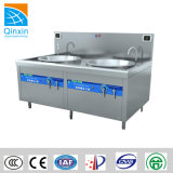 30kw Two Burner Induction Wok Stove