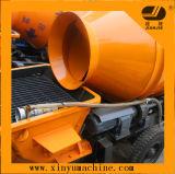 Portable Trailer Concrete Pump with Mixer (JBT30)