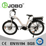 Electric 26′ City Bike Lady Bicycle Li-ion Battery