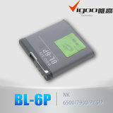 3.7V Lituium Battery Mobile Phone Battery Bl-6p