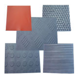 Anti-Slip Different Patterns of Ribbed Rubber Sheet / Mat
