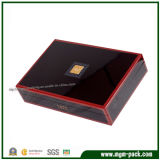 High Quality Dividers Glossy Finish Wooden Tea Box
