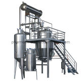 Heat Reflux Extractor and Concentrator Unit for Herbal