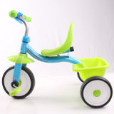 Pedal Power China Tricycle Kids Baby Metal Tricycle with Certificate