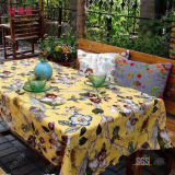 100% Polyester Printed Tablecloth