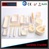 1500-1800c High Temperature Melting Alumina Ceramic Crucible