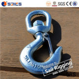 Steel Drop Forged S322 Heavy Lifting Swivel Hook