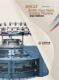 Groz-Beckert Needles Interlock Open Width Knitting Machine (TF-D2F4)