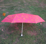 3-Folding Super Mini Umbrella with Check Fabric (JHDF3056)