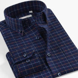 Custom Men 100% Cotton Dress Blouse Flannel Shirts