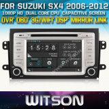 Witson Car DVD for Suzuki Sx4 2006-2012 Car DVD GPS 1080P DSP Capactive Screen WiFi 3G Front DVR Camera