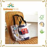 Clear PVC Handbag Lady Beach Tote Bag Transparent Shopping Bag