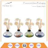 Art Decorative Glass Reed Diffuser Bottle Set