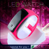 2015 Popular Red Fashion LED Girl′s Watch (DC-891)