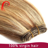 Hand Tied Virgin Brazilian Human Hair Weft