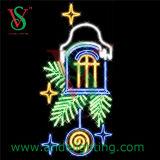 Christmas Holiday Name LED Cross Street Light Pole Decoration Light