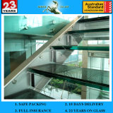 3/4/5/6mm+0.38 Colored PVB+3/4/5/6mm Laminated Glass with as/Nzs2208: 1996
