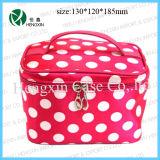 Nylon Makeup Bag Cosmetic Vanity Bag with Mirror