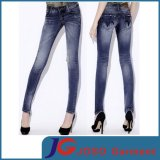Fashion Knee Broken Skinny Jeans for Girl (JC1309)