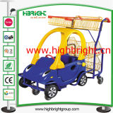 Commercial Stroller Supermarket Children Shopping Cart for Kids