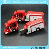 Custom Red Fire-Engine USB Flash Drive for Office Souvenir (ZYF1044)