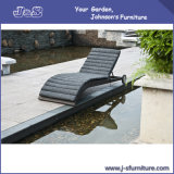 Outdoor Wicker Patio Furniture ,Brown Rattan Pool Sun Chaise Lounge Chair (J4265)