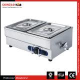 2 Pan Electric Hot Bain Marie Food Warmer with Ce SAA Certification