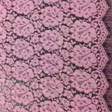 Fashion New Arrival Nylon Allover Lace Fabric (with oeko-tex certification)