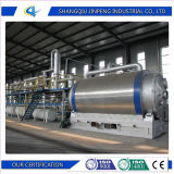 Engineer Available to Service Overseas Jinpeng Recycled Rubber to Energy Machine