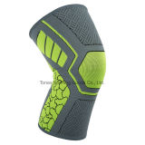 Circle Knitting Breathable Compression Elasticity Fabric Knee Brace