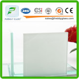 CE&ISO Standard Laminated Glass with Purple PVB Film