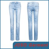 Women Light Wash Denim Jeans (JC1138)