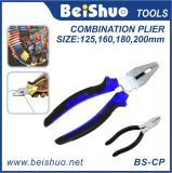High Leverage Insulated Combination Cutting Pliers Comfort Cushion Grip Cutters