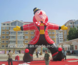 Hot Sale Lovely Inflatable Clown Cartoon Character