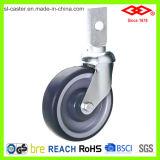 125mm Swivel Socket Caster Wheel (C121-34C125X32)